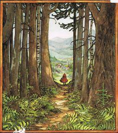 Little Red Riding Hood---- Trina Schart Hyman