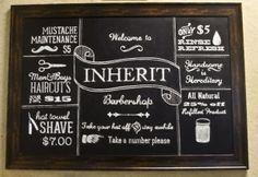 Inherit Barbershop by Katie Bartlett, via Behance