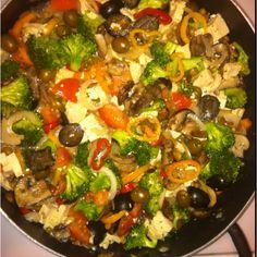 My vegetarian dish!