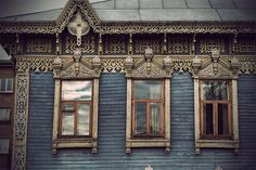 Photography project - Siberian wooden houses - of my favorite illustrator @www.vladstudio.com