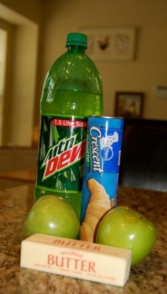 Easy Mountain Dew Apple Dumplings. Recipe and instructions. Tasty!!!