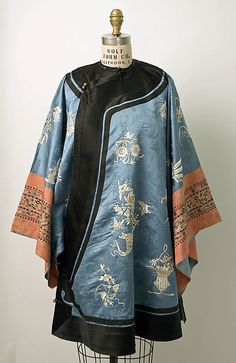 Silk Chinese Coat / Metropolitan Museum Collection http://www.metmuseum.org/collections/search-the-collections/80010104