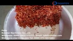 Automatic Chili Slice Cutting and Seeds Separating Machine for Sale