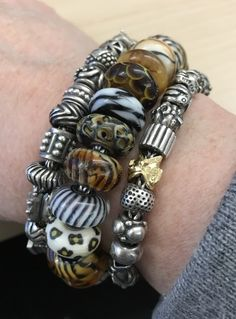 Today's Stack!  A beautiful photo of very rare beads from a great collector of Trollbeads!  Thank you G!!!