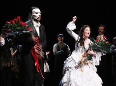Phantom of the Opera Broadway Norm Lewis and Sierra Boggess