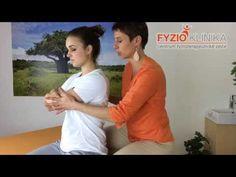 Protažení středních vláken trapézu - YouTube Back Pain Relief, How To Get Rid, Health, Youtube, Diet, Anatomy, Health Care, Relieve Back Pain, Youtubers