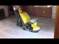 Refinishing and Polishing a 1950's Terrazzo Floor