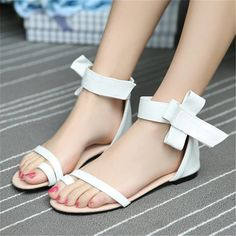 Sandals PU New Shoes Woman small yards 31 32 33 Large size 47 46 45 44 43 42 41 40 High Heel 1CM EUR Size 30-48