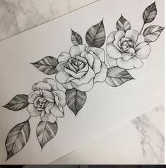pattern tattoos with meaning Rose Tattoos, Flower Tattoos, Body Art Tattoos, New Tattoos, Small Tattoos, Tattoos For Guys, Tattoo Femeninos, Piercing Tattoo, Tattoo Sketches