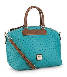 dooney and bourke ostrich; must get a turquoise bag or Tiffany blue bag, I must, I must!!!