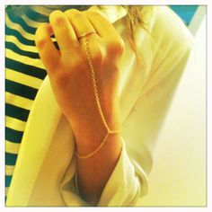 We cant wait to try this #DIY ring bracelet!