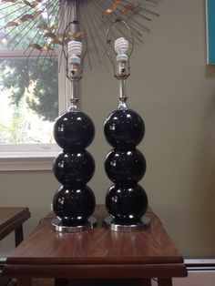 Midcentury Kovacs Style Ball Lamps(local discount) in Catonsville, Baltimore ~ Apartment Therapy Classifieds