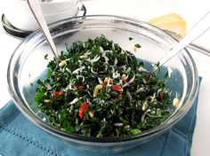 <p>I know what you're thinking: ugh, another raw kale salad