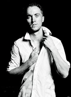 Hey look at this picture of Tom Felton! He looks so...so...I'm sorry, were you saying something?