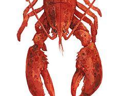 Popular items for lobster decor on Etsy