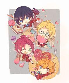 Trickstar | Ensemble Stars! Anime Chibi, Anime Art, Star Wallpaper, Cute Chibi, Ensemble Stars, Manga Pictures, Funny Cute, Animal Drawings, Cute Guys