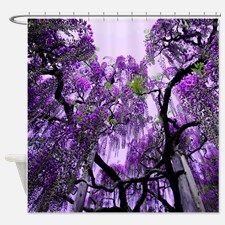 Wisteria Shower Curtain for