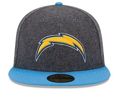 NEW ERA x NFL「San Diego Chargers Melton Wool」59Fifty Fitted Baseball Cap