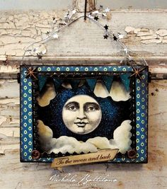 Pixie Hill: Paper Moon Shrine with Tutorial