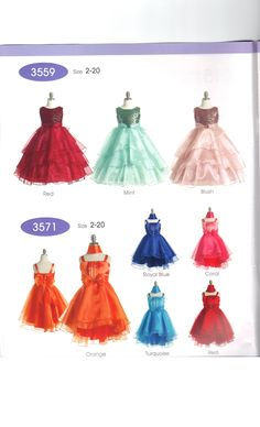 New Dress books have arrived so excited about some of the new styles and colors. #Love #GirlsDresses