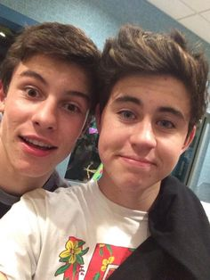 Shawn and Nash... Probably the most beautiful picture ever