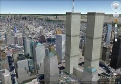 With today marking the 12th anniversary of the attacks on the World Trade Center in New York City, we thought we'd again take a look at the ever-changing skyline of the city. New York City has changed quite a bit in Google Earth in the past year, thanks largely to the introduction of 3D Imagery to the city. World Trade Center, Willis Tower, San Francisco Skyline, New York City, The Past, Anniversary, Earth, 3d, Google