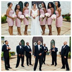 Nigerian Wedding: 50 Beautiful Color Coordinating Ideas For Your Bridesmaids & Groomsmen - Nigeria: Nigerian Wedding's Blog