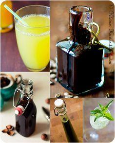 Geschenke aus der Küche (Sirup, Likör und Getränke)