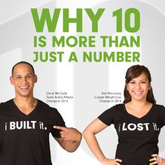 Check out this awesome article! I challenge you to join Project 10 with me: www.mwynia.bodybyvi.com - Guy on the right is Oscar from Indianapolis and my personal inspiration, coach, and butt kicker.  These are not nameless faces, but real people with real lives, I know this because I was hanging with him at his home last week.
