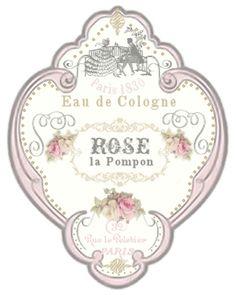 JanetK.Design Free digital vintage stuff: Parfumflesjes labels
