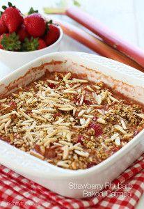 Strawberry Baked Oatmeal | FaveHealthyRecipes.com