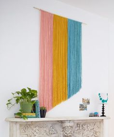 """In our minds, """"spring refresh"""" doesn't mean plunking down all the monies on a sofa with several zeroes dangling off the tag. Our apartments just need a little pick-me-up and lovin' with a handmade touch. We're speaking of the subtle accents that..."""