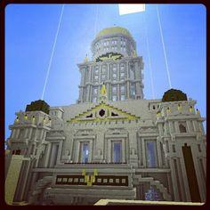 Minecraft Capitol Building #minecraft