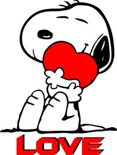 Apollo's Products Snoopy Hugging Red and Black Heart/With Love Below - Custom Made To Order - 14 X 19 Inches Peanuts Cartoon, Peanuts Snoopy, Snoopy Und Woodstock, Snoopy Hug, Snoopy Frases, Snoopy Quotes, Snoopy Tattoo, Snoopy Valentine, Happy Valentines Day