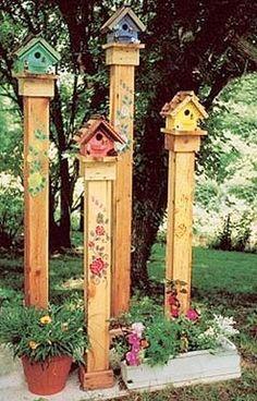 30+ Creative Bird House Ideas For Beautiful Yard