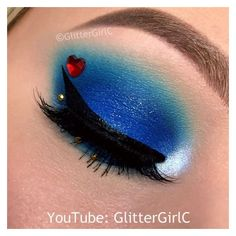 Descendants Evie Makeup GlitterGirlC ❤ liked on Polyvore featuring beauty products and makeup