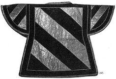 Tabardo de los heraldos de Borgoña, mediados del  siglo XV.