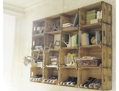 This is a great storage idea - I always need more storage, lol
