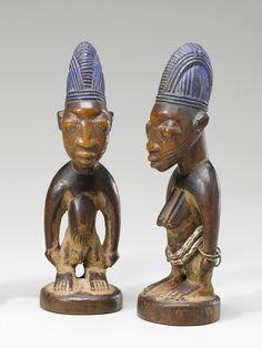 Yoruba Ere Ibeji (Twin Figure), Oyo - Erin, Nigeria