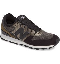 New Balance's classic 696 sneaker is updated in a cool mix of colors and textures for sporty, go-anywhere style.