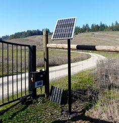 makes sense! Iron Gates, Solar Panels, Solar Power, Castle, Outdoor Decor, Home, Sun Panels, Iron Doors, Solar Power Panels