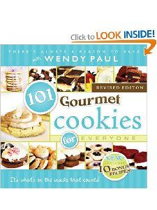 101 Gourmet Cookies for Everyone. Designed cover and type set interior