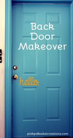 DIY Back Door Make-O