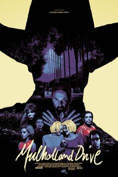 Gabz David Lynch Mulholland Drive Poster Release Details