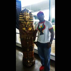 Peace to our Brotha Artavious Holmes from Tenn Tribe...we truly appreciate your continued support!!!  Pan African Designs.Com http://www.panafricandesigns.com/  #Heru #Horus #Kemet #rbg #Africa #panafricandesigns #panafrican #panafricanflag #uniaflag #blackownedbusinesses #buyblack #marcusgarvey #africanfashion #africantshirts #africanprint #redblackandgreen #blackpower #blackhistory #africanamerican #conscious #blacklove #blackpeople #blackvegan #africanstyle #allblack #betawards