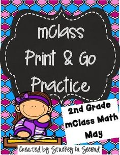 This is my May edition of mClass math practice sheets for 2nd graders. This packet includes practice for number facts, missing number, concepts, computation, and quantity discrimination. There are five sheets per skill. 25 sheets total, ready to PRINT!