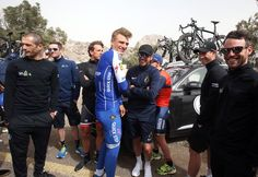 Riders at the Dubai Tour have praised race organisers for deciding to cancel stage four after high winds of up to 65kmh swept across the course.