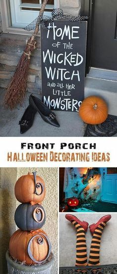 20+ Super Cool DIY Outdoor Halloween Decorations! Pinterest Milk - halloween milk jug decorations
