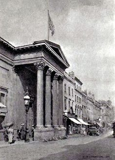 Royal Birmingham Society of Artists in New Street in the St Pauls Square area. Old Pictures, Old Photos, Birmingham City Centre, Sutton Coldfield, Birmingham England, Walsall, The Old Days, West Midlands, City Buildings