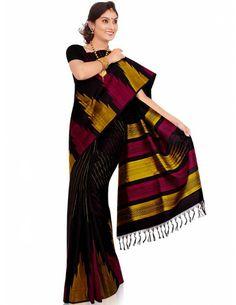 Astonishing Look Saree Item code : SBC101  http://www.bharatplaza.com/womens-wear/sarees/silk-sarees/astonishing-look-saree-sbc101.html